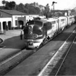El Capitan, Arriving at Santa Fe Station, 1946 (Trains)
