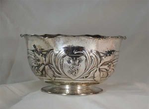 Featured Decorative Arts Object - Silver Bowl