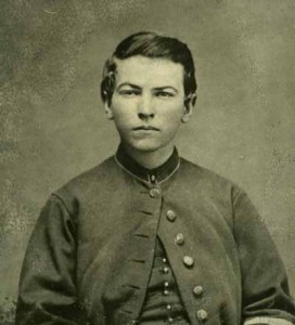 John McDonald, drummer boy in the Civil War, at age 16 (Main Photo Collection)