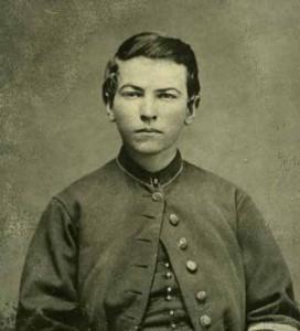 John McDonald, drummer boy in the Civil War, at age 16 (Main Photo Collection)