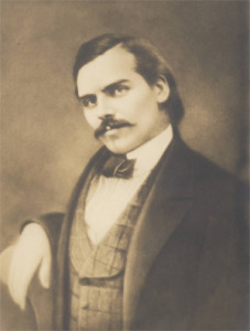 Thaddeus Lowe as a young man (Courtesy of Michael Patris and the Mount Lowe Preservation Society Collection)