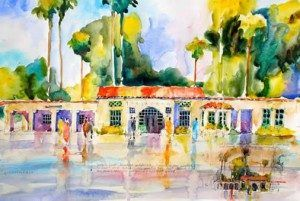 Watercolor by Joseph Stoddard