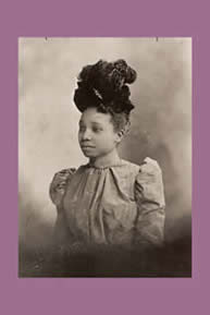 1890s Woman in Hat