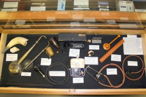Medical instruments from the Civil War era