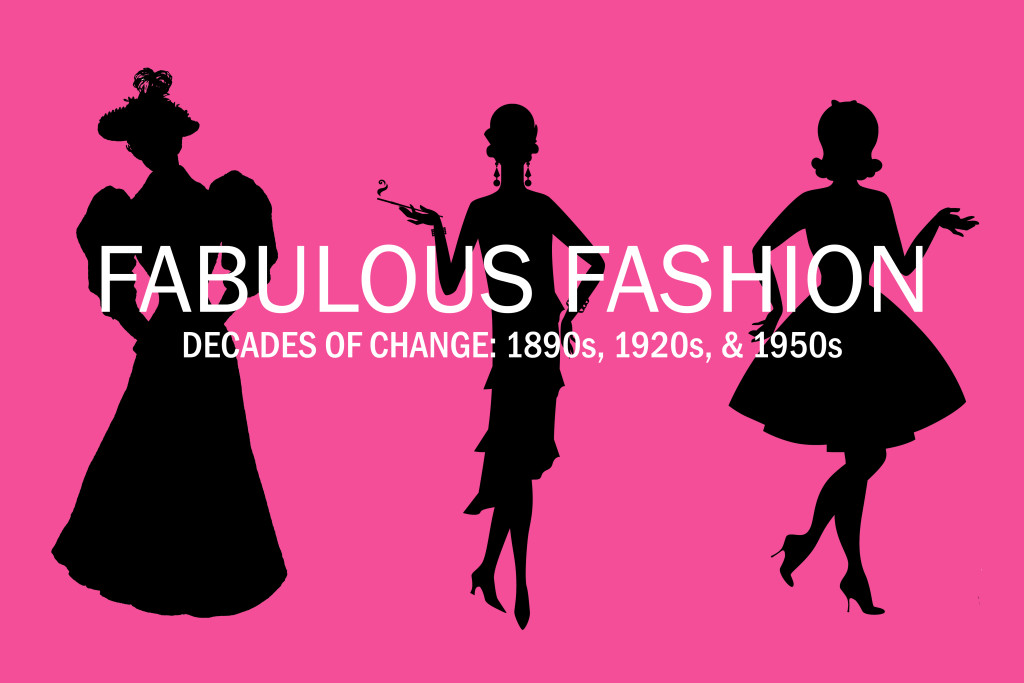 Fabulous Fashion exhibit logo