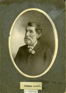 portrait of Thomas Croft