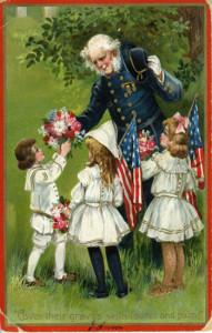 Memorial Day postcard