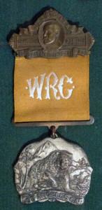 WRC badge