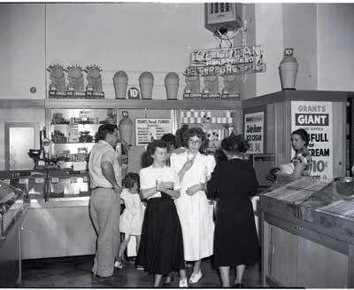 J. Allen Hawkins photo of Grant's Store