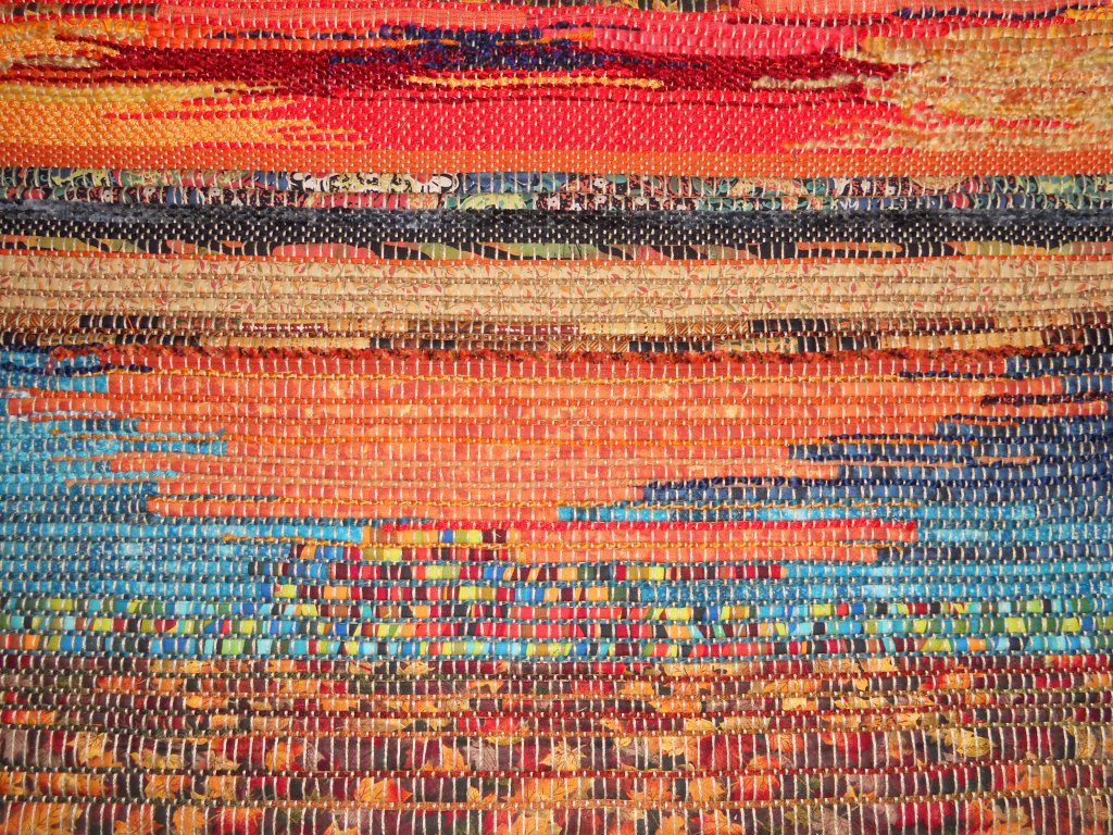 woven art by Susan Beeler Anderson