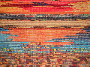 woven art by Susan Beeler Anderson