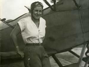 Pasadena aviatrix Yolando Spirito