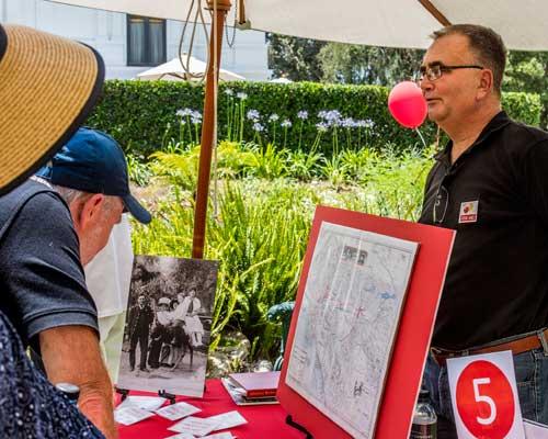 History Pod at 2015 Happy Birthday Pasadena