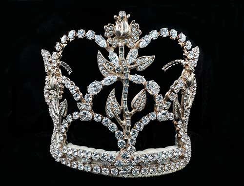 Rose Queen® crown, 1993-2004