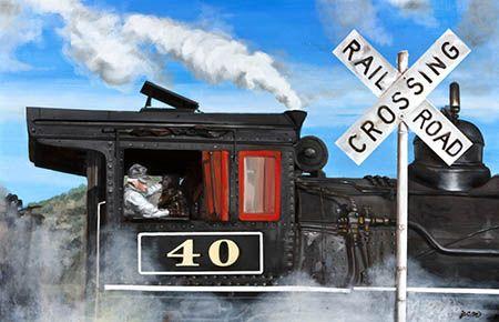 #40 at Speed by Yoko Mazza