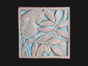 Batchelder decorative tile