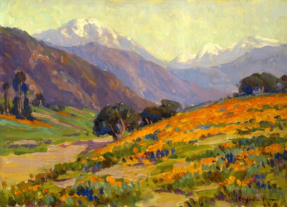 California Poppies, by Benjamin Brown