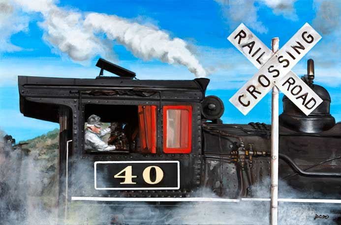 The Art of Getting There: Railroad Art
