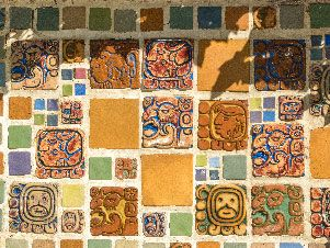 Batchelder Aztec tiles