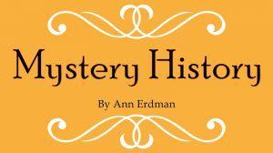 Mystery History exhibit logo