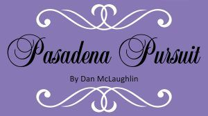 Pasadena Pursuit exhibit logo