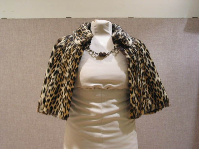 Fur cape belonging to Leonora Paloheimo