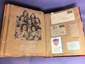 Scrapbook from the collections
