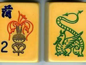 mah jong game tiles