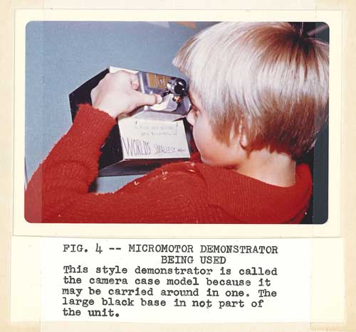 child with micromotor