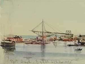 Port Said by Eva Scott Fenyes