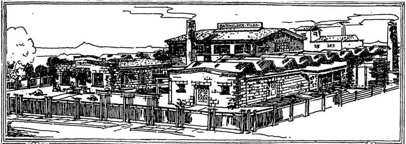 The Batchelder-Wilson tile factory at 2633 Artesian Street.