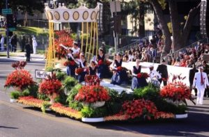 2010 Rose Parade float