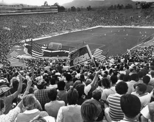 1984 Olympic soccer at the Rose Bowl
