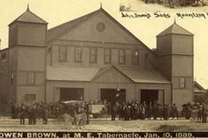 funeral of Owen Brown