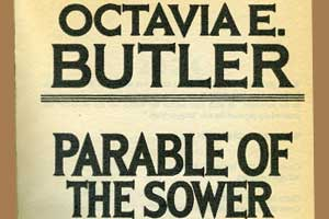 Inscribed Octavia Butler book