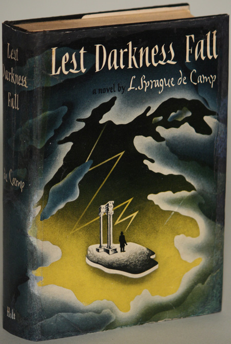 First edition copy of Lest Darkness Fall