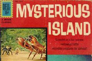 Mysterious Island comic