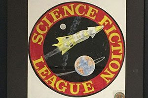 logo art for the Science Fiction League