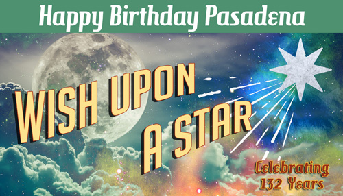 Happy Birthday Pasadena logo
