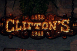 Clifton's Sign