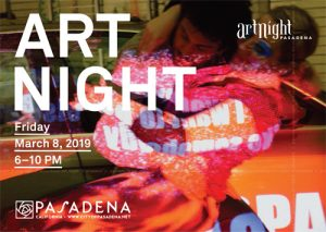 ArtNight Pasadena flier