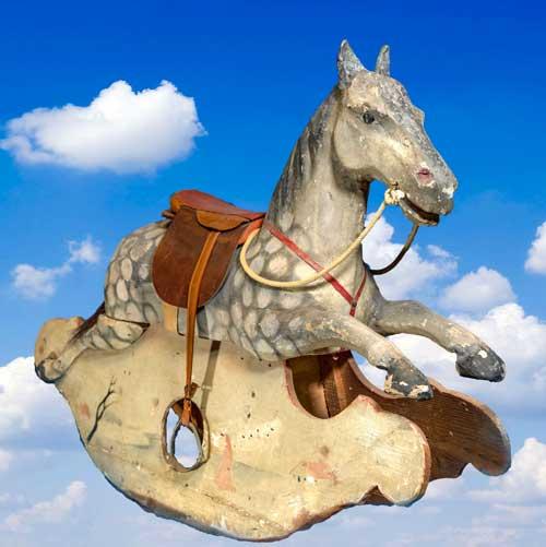 Italian rocking horse