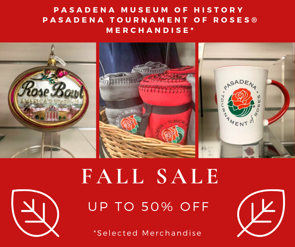 Tournament of Roses Fall Sale