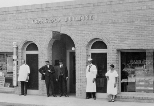 The Francisca Building, located at 22-26 W. Dayton St.