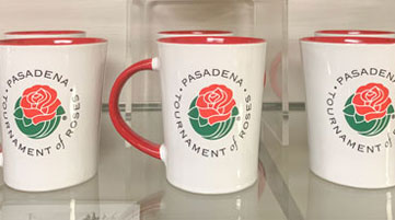 Tournament of Roses mugs