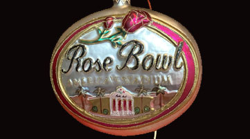 Rose Bowl ornament