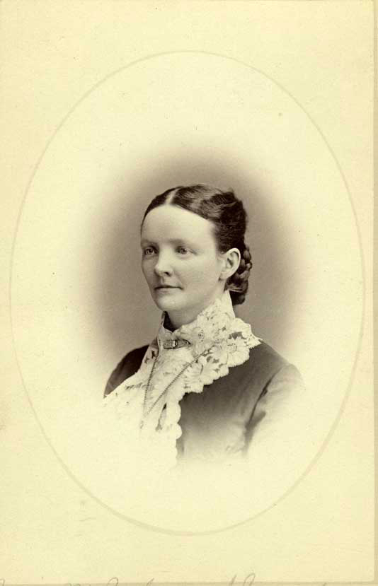 Photograph of Josie Parker, Charles' wife; Charles and Millard Parker Collection (CMP.1.23)