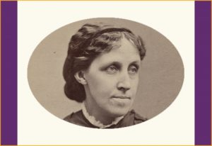 Louisa May Alcott, circa 1870. Courtesy of Library of Congress, Prints & Photographs Division, (LC-DIG-ppmsca-53264)