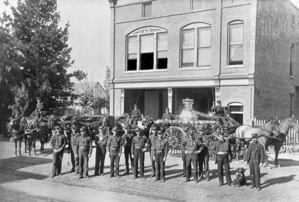 Dayton Street Firehouse, 1890s (Main Photo Collection, D5-F1-12)