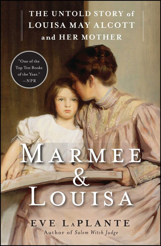 Book cover for Marmee & Louisa by Eve LaPlante